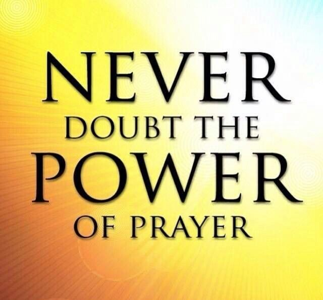 Amazing power in trying prayer power