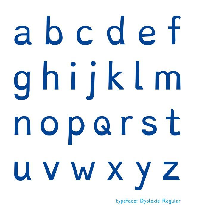 A typeface designed to help dyslexics read - worth a shot!!!! 141110_EYE_DyslexieFont1 The website provides a spot for a free download