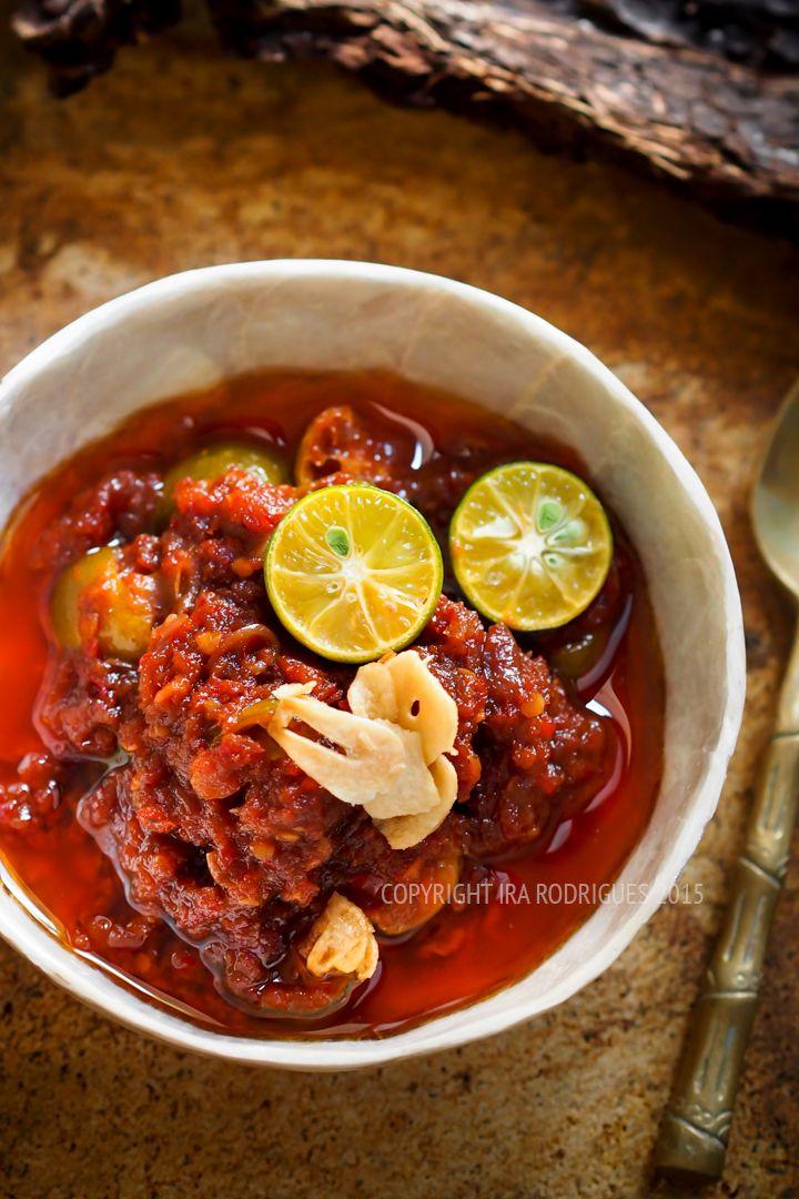 Sambal (Indonesian chili and lime sambal)