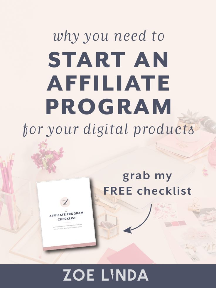 Why You Need To Start An Affiliate Program For Your Digital Products   Launching a digital product is hard enough as it is without adding affiliates into the mix. Why should you bother? This blog post tells you why you should work with affiliates if you create and sell digital products, online courses, or infoproducts. This post is perfect if you're looking to create multiple revenue streams or work on your passive income!