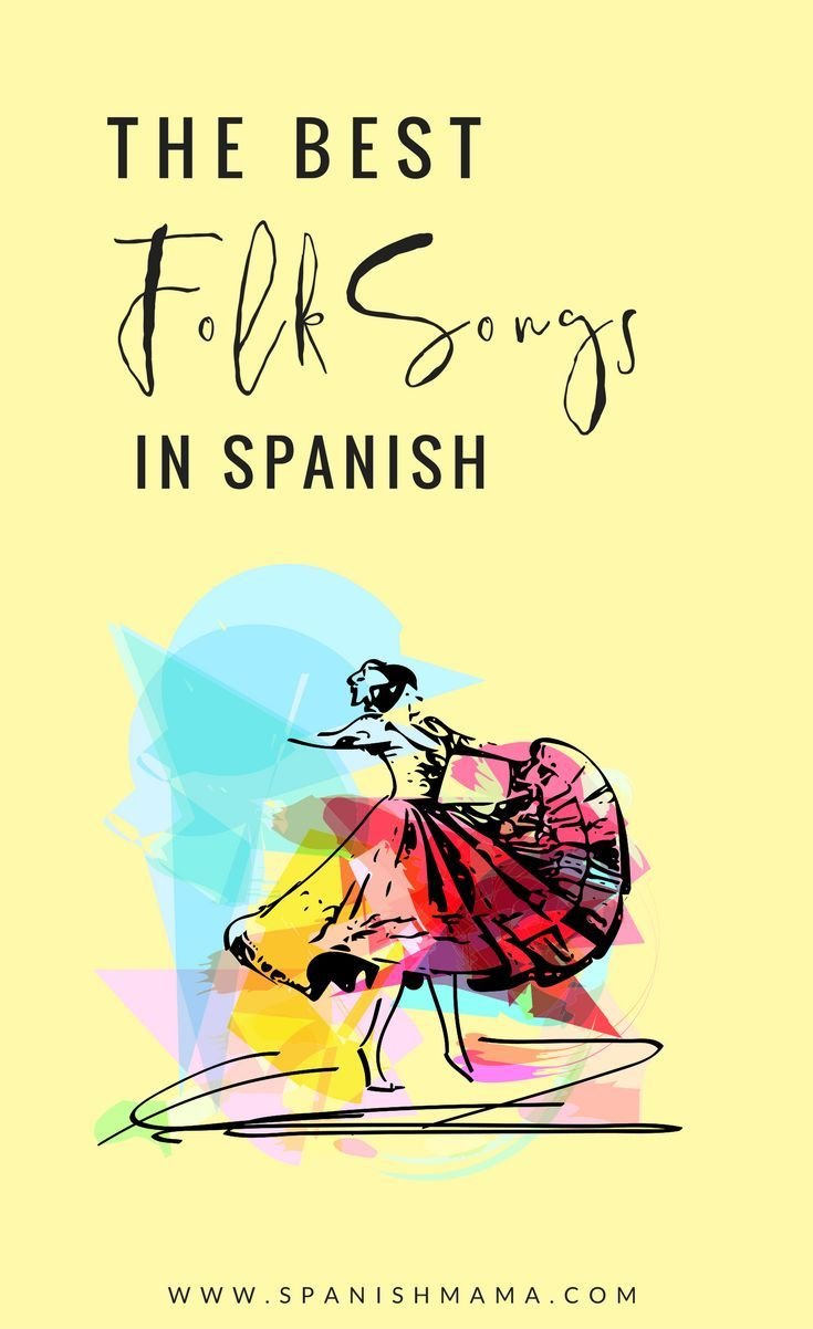Folk Songs in Spanish: Las que corren por las venas. Famous traditional songs from Latin America and Hispanic countries.