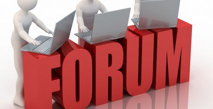 We now have a Forum