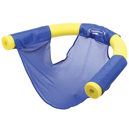 Swimways Swimways Floating Pool Noodle Sling Chair Mesh Water Seat (Assorted Colors) 2