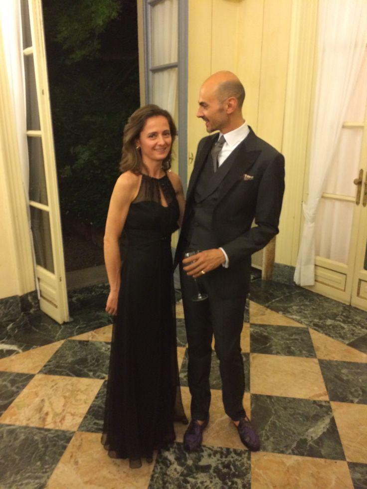 Con #EnzoMiccio serata di presentazione della sua #bridalcollection2015 . Vi aspettiamo per provarli!!!