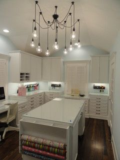 DREAM Craft Room Design, Pictures, Remodel, Decor and Ideas