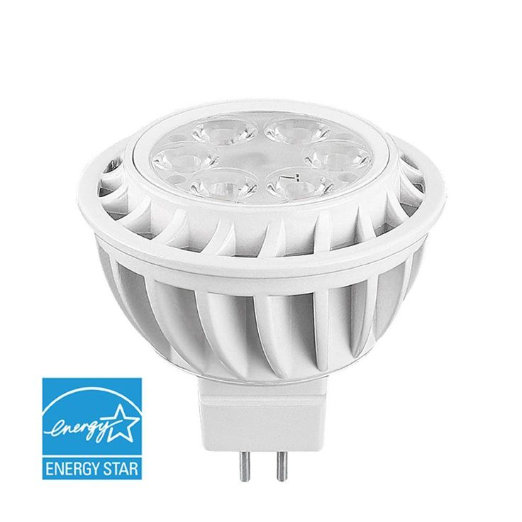 Euri Lighting 30W Equivalent Soft White MR16 Non-Dimmable Flood LED Light Bulb