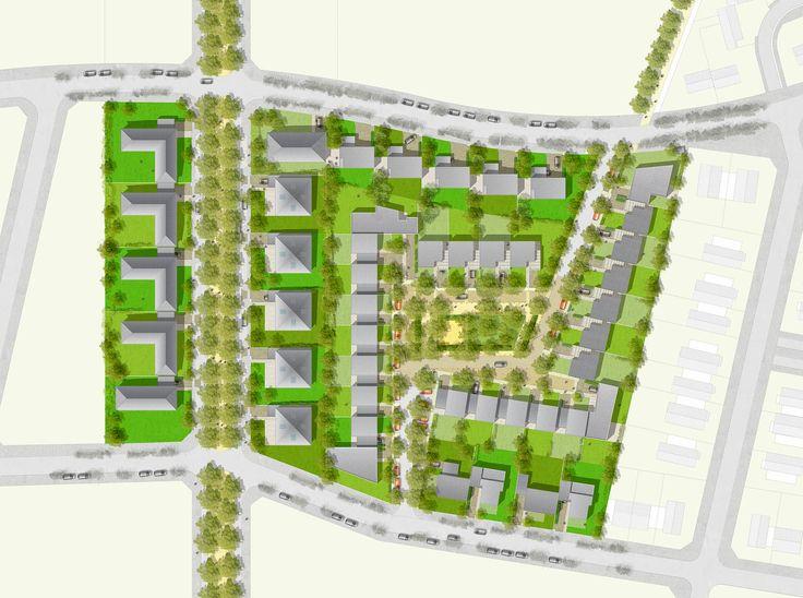 255 best planning images on pinterest floor plans architecture drawing plan and architectural - Zac de la croix bonnet 78390 bois d arcy ...