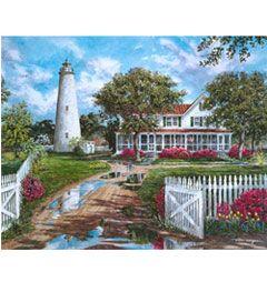 Plaid ® Paint by Number - Ocracoke Lighthouse | Plaid Enterprises