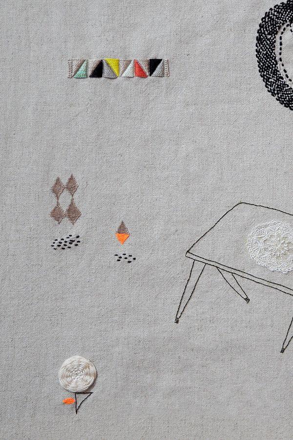 Knittings landscape-detail