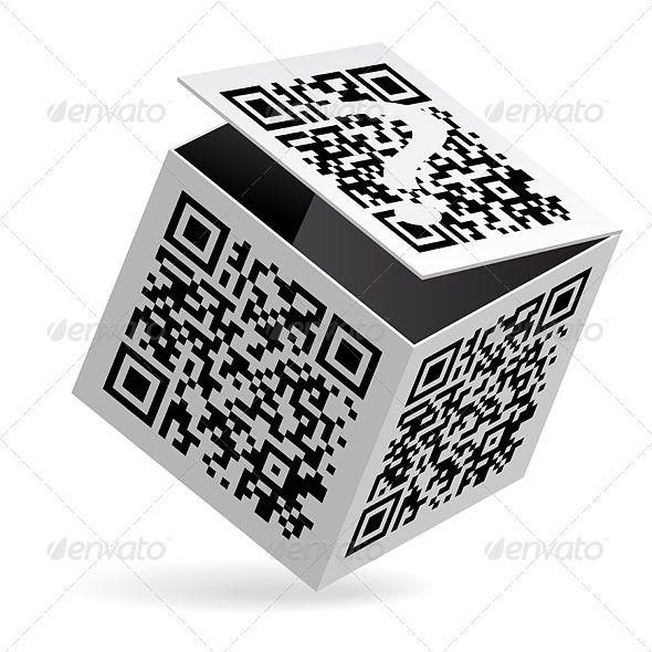 QR code on box