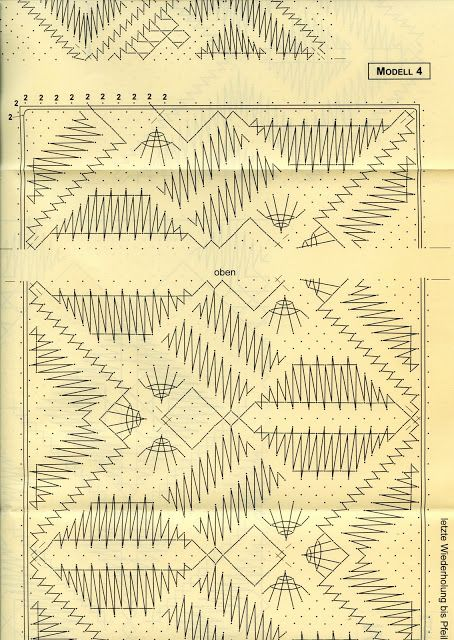 Libro de chales con sus respectivos picados - Lourditas Vindel - Álbumes web de Picasa