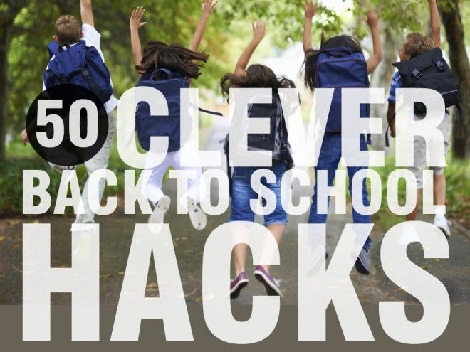 50 clever back to school hacks that make life easier - Kidspot