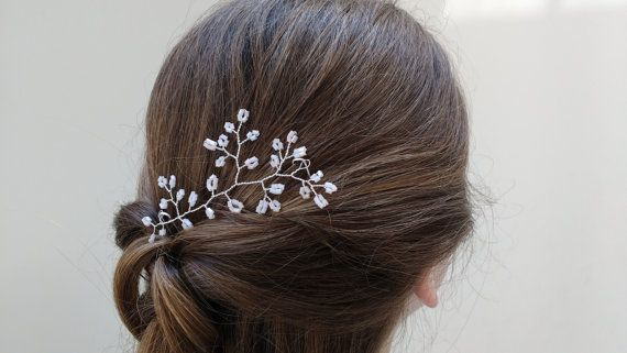 Wedding Dress SAMPLE SALE  Hairpiece  by LisaWagnerDesigns on Etsy