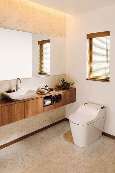 新型「アラウーノ」カウンタープラン(新型アラウーノタイプ1、トイレ手洗い・収納、アクセサリー込み)