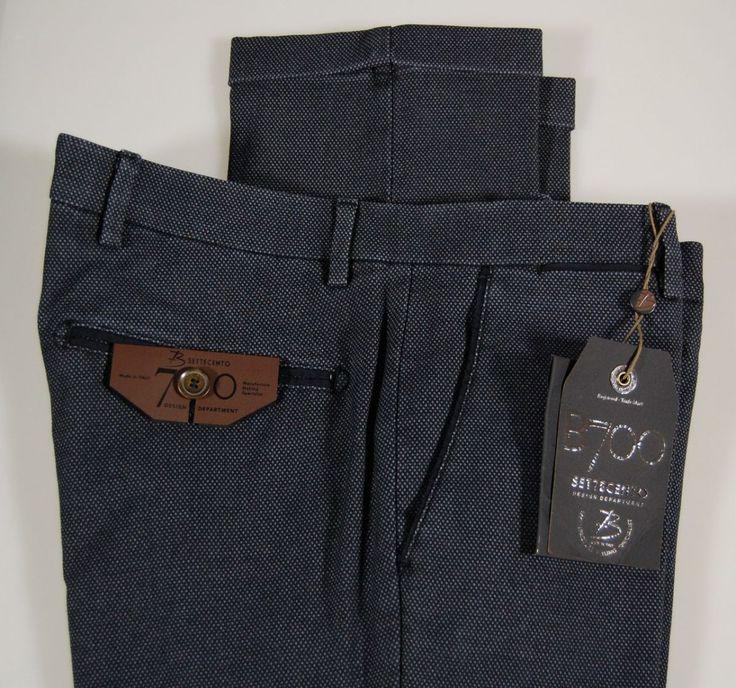 Pantalone slim fit B700 cotone armaturato stretch