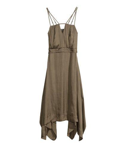 Satijnen jurk   Product Detail   H&M