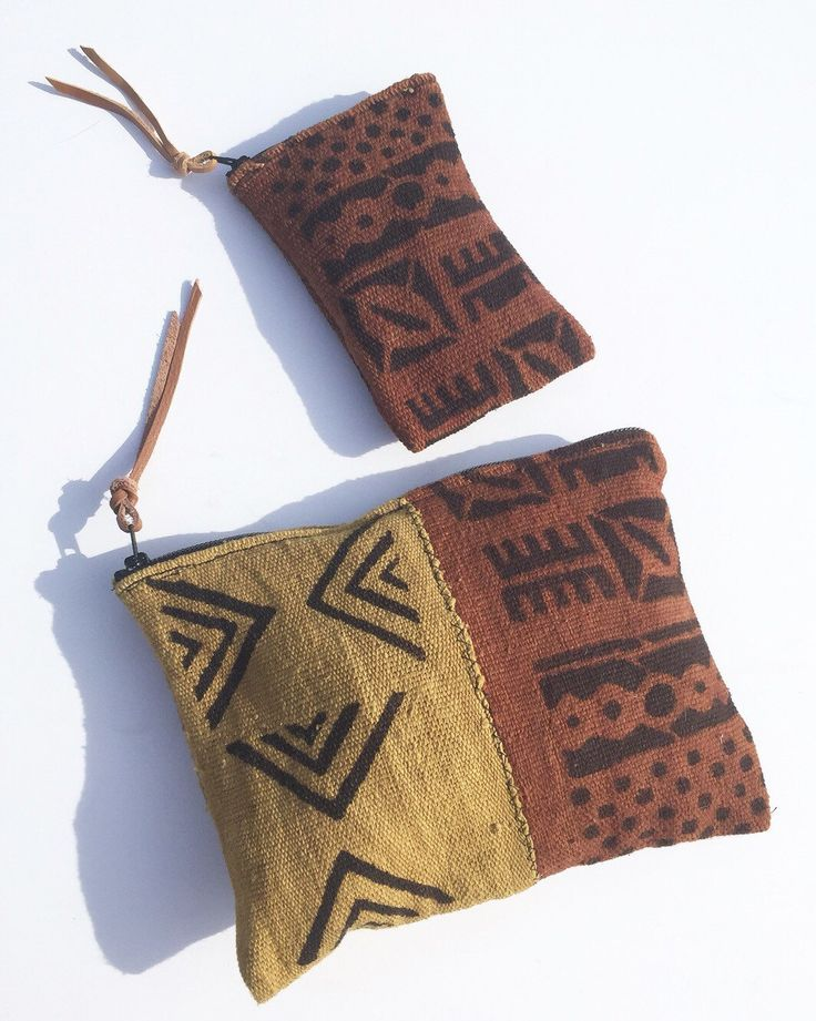 A personal favorite from my Etsy shop https://www.etsy.com/listing/258091633/mudcloth-clutch-and-pouch-set