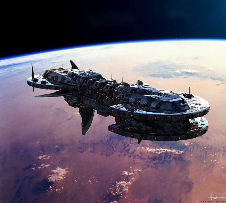 Concept Art World — Check out another spaceship concept by Nick Hiatt,...