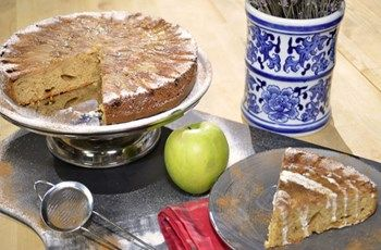 Tarçınlı Zencefilli Fransız Elmalı Kek