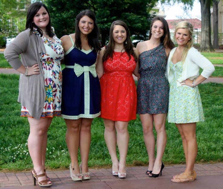 Ole Miss Sorority Recruitment Sisterhood Outfits