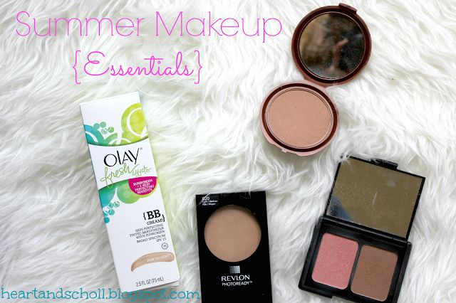 Summer Makeup Essentials! Olay Fresh Effects BB Cream and more!