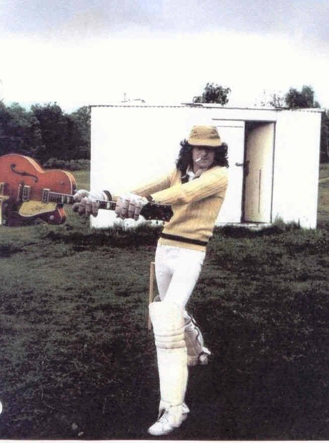 Image result for jimmy page + cricket