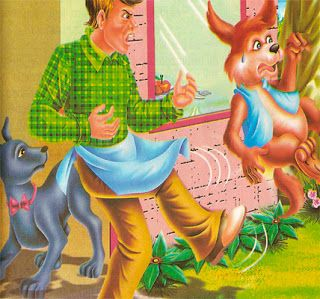 El perro y el cocinero – Fábula infantil http://www.encuentos.com/fabulas/el-perro-y-el-cocinero-fabula-infantil/