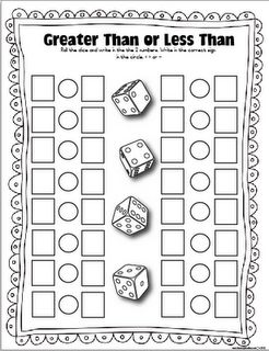 Classroom Freebies: FREE Dice games!