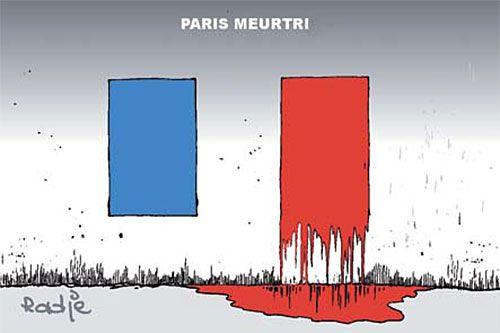 Ghir Hak (2015-11-16) Paris meurtri, | Presse-dz