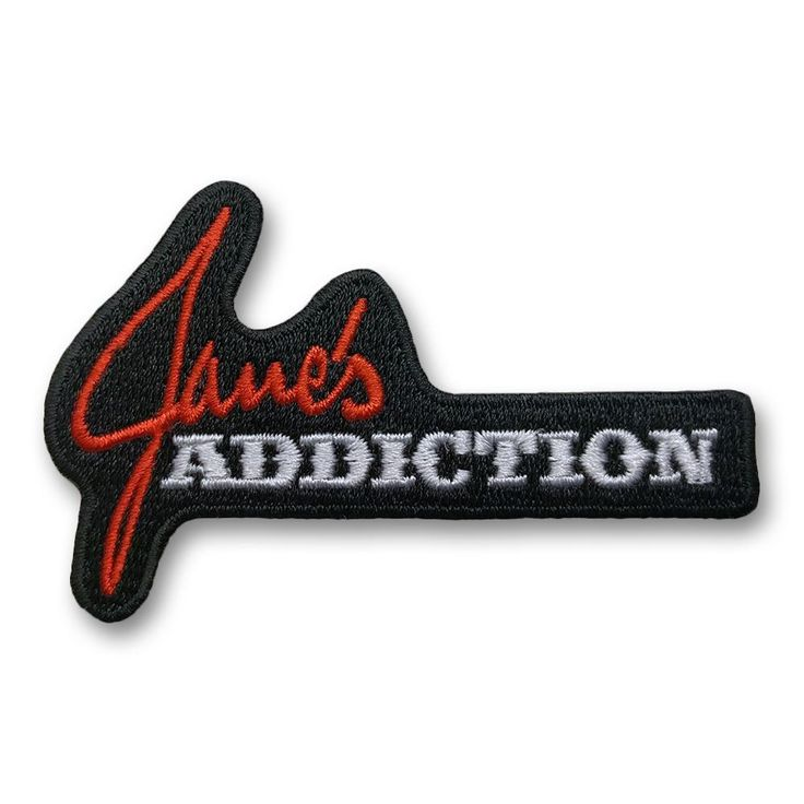 Click here to purchase this Official Jane's Addiction Logo Patch