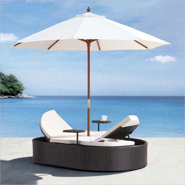 Königin-Outdoor-Tagesbett-Rest