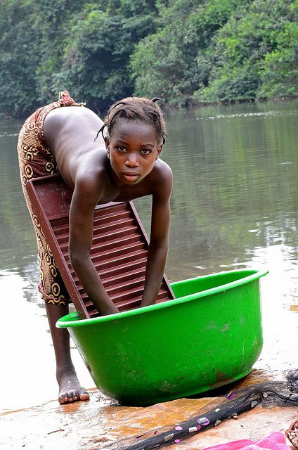 In the Continuum, working is a way of life without negativity attached to that. Guinea, West Africa