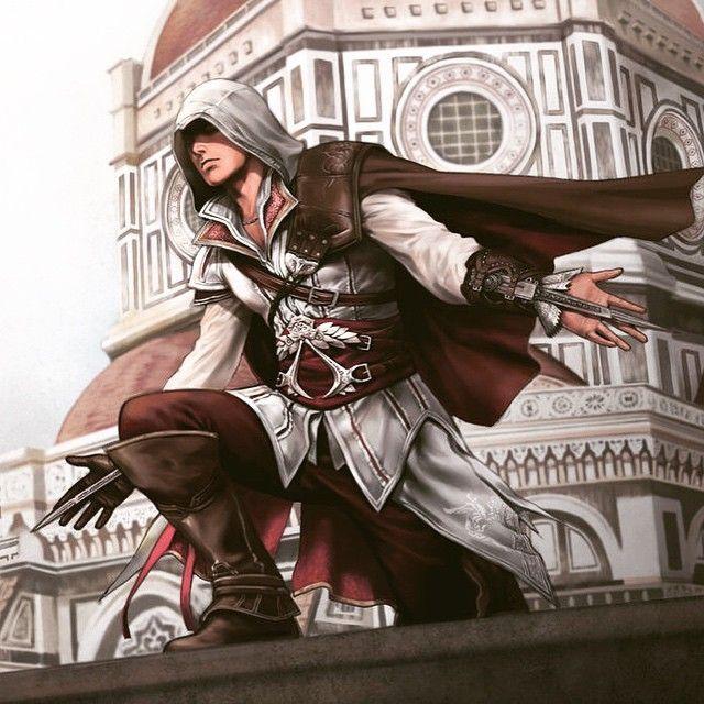 Image Result For Ezio Auditore Fanart Assassins Creed