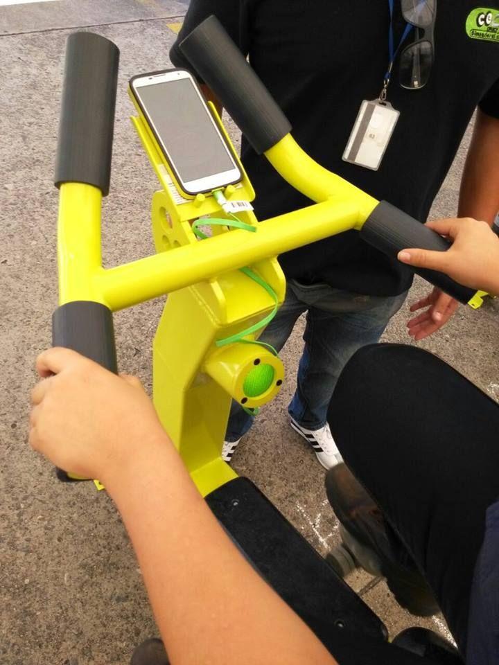 EcoBikes para gimnasios al aire libre - Productos EB - Ecobikes