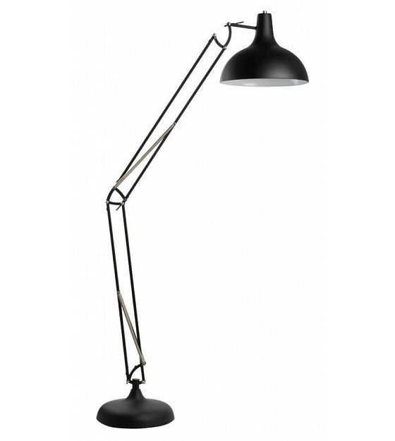 Zuiver Vloerlamp zwart metaal 38x30x190cm, Office black - wonenmetlef.nl