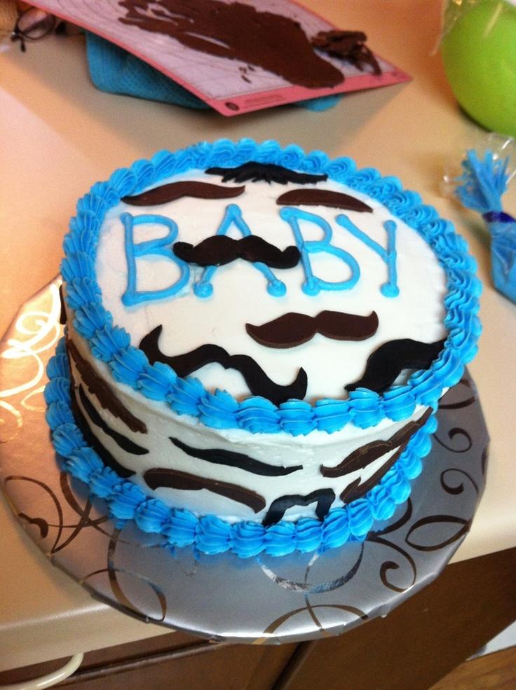 sarah jones cakes shower cakes mustache baby shower cake