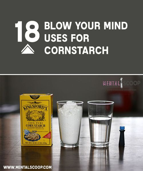 Alternative Uses For Cornstarch That Will Surprise The Homestead Survival - Homesteading - Frugal Household Tips