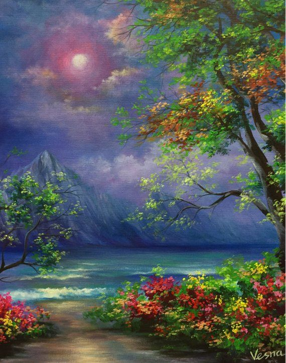Nfs A Whisper In 2020 Beautiful Paintings Of Nature Nature