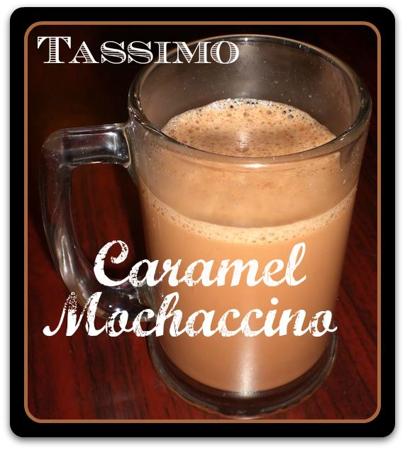 A simple recipe for making a delicious Caramel Mochaccino with TASSIMO. Yum.