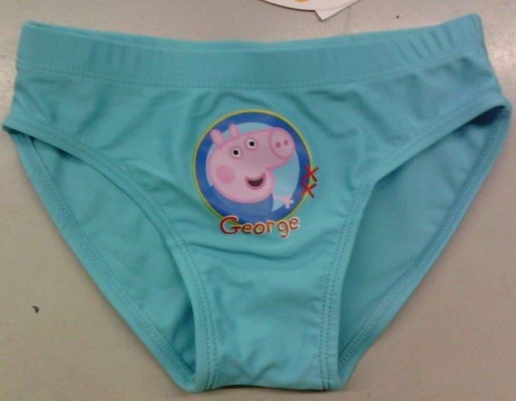 George, Peppa Pig Abbigliamento e Accessori Estate Bambino Costume da Mare Bagno Mutanda - TocTocShop.com -