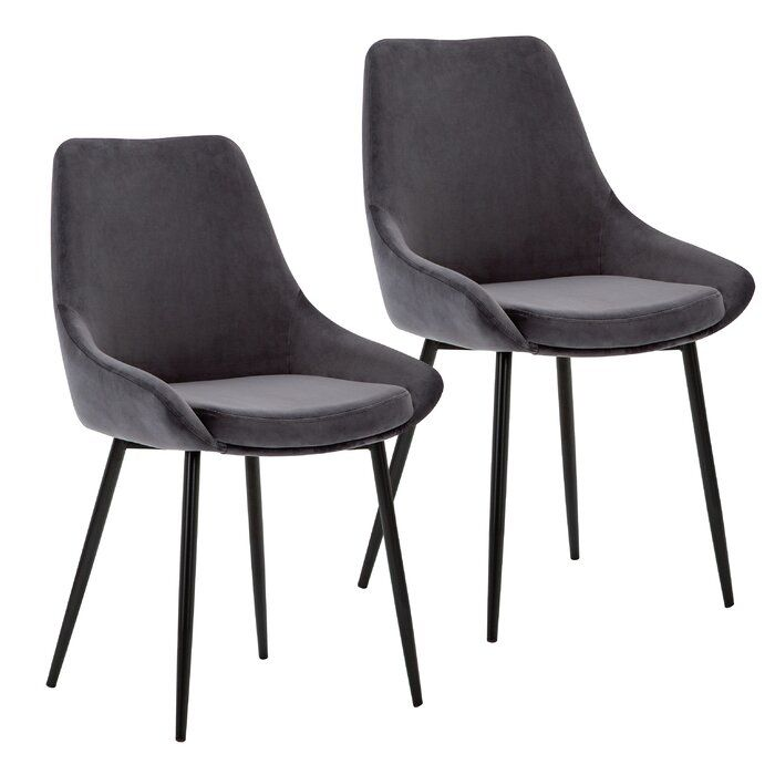 Kendall Upholstered Dining Chair Fabric Dining Chairs Dining