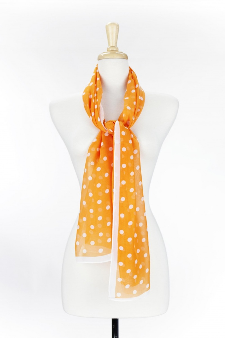 Dressing Your Truth - Type 1 Orange Joy Scarf