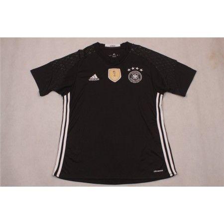 Tyskland 2016 Keeper Hjemmedrakt Kortermet.  http://www.fotballteam.com/tyskland-2016-keeper-hjemmedrakt-kortermet.  #fotballdrakter
