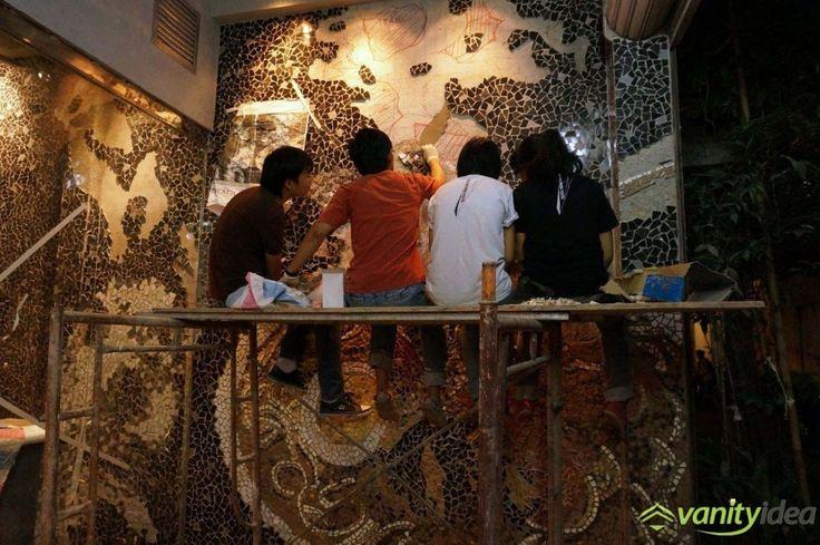 mosaic wall design