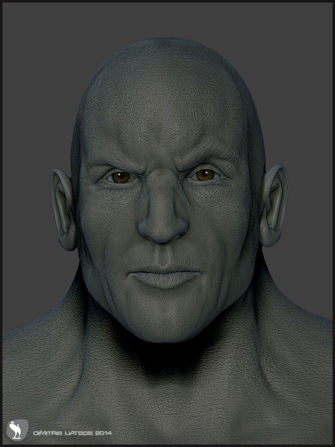 ZBrush sculpt practice a Saturday evening.