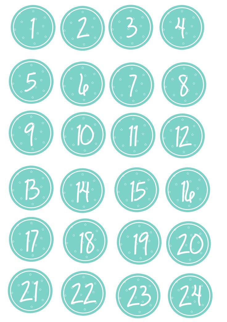 die besten 25 adventskalender zahlen ideen auf pinterest kalender 2014 zum ausdrucken. Black Bedroom Furniture Sets. Home Design Ideas