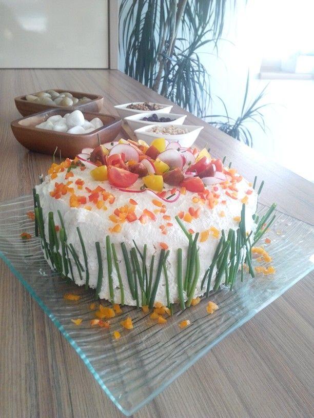Salt cheesecake