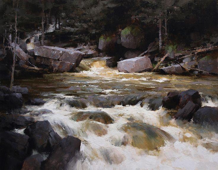 mark boedges | Mark Boedges | Art, Waterfall paintings ...