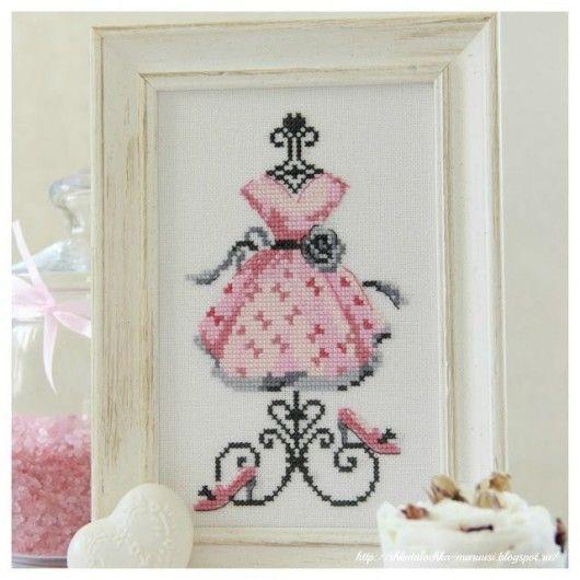 Çarpı İşi Şablonları 1-Elbise   kadın ve moda dekorasyon mobilya ve ev gereçleri tanıtım fiyatları