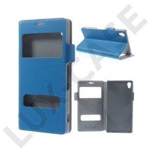 Bellman (Blå) Sony Xperia Z3 Læder Flip Etui